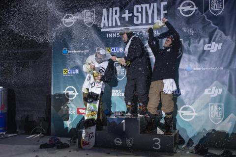 Snowboard: To norske på pallen i Air+Style Innsbruck