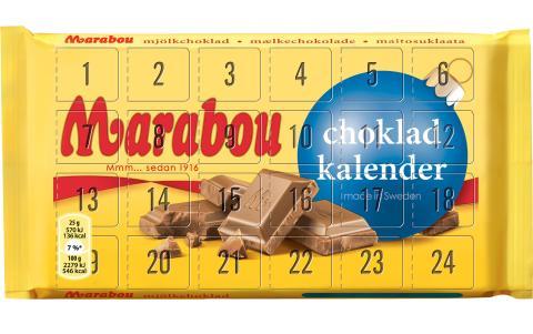 Kan du hålla dig till en ruta om dagen? Nu kommer chokladkalendern alla väntat på!