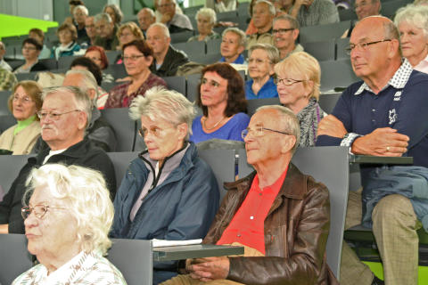 Ministerin Golze eröffnet das Sommersemester 2015 des Seniorenseminars