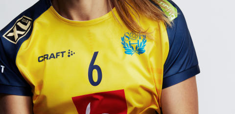 Craft will be the new clothing supplier to the Swedish Handball National Team