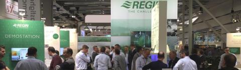 Upplev framtidens hållbara styrsystem i Regins monter på Nordbygg, 10-13 april