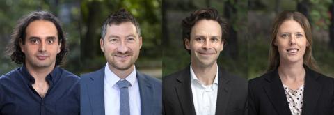 Fyra forskare blir Wallenberg Fellows