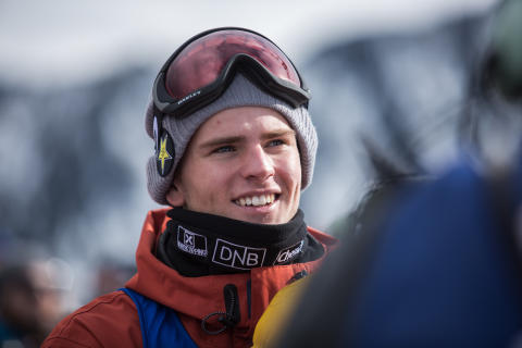 Mons Røisland tok bronse i slopestyle. Foto: Matt Pain / Snowboardforbundet