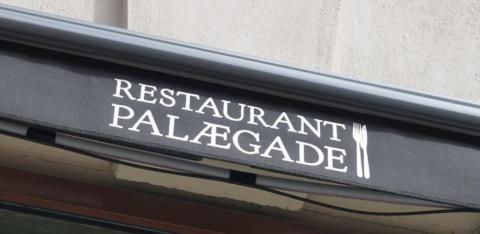 Restaurant Palægade i København