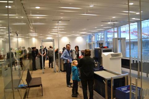 Ny utrikes säkerhetskontroll Göteborg Landvetter Airport