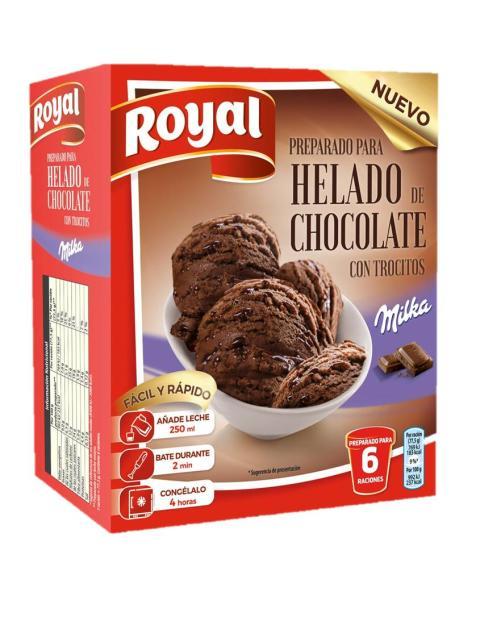 Ahora con Royal hacer un helado en casa es más fácil que nunca