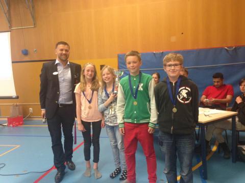 Milstensskolan vinnare i mattetävlingen Alfafemman