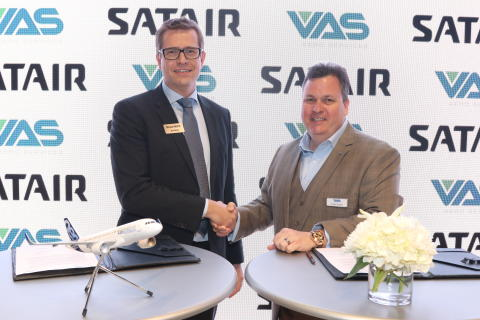 Satair and VAS Aero Services further expand their strategic services cooperation to include market-critical  airframe and engine products