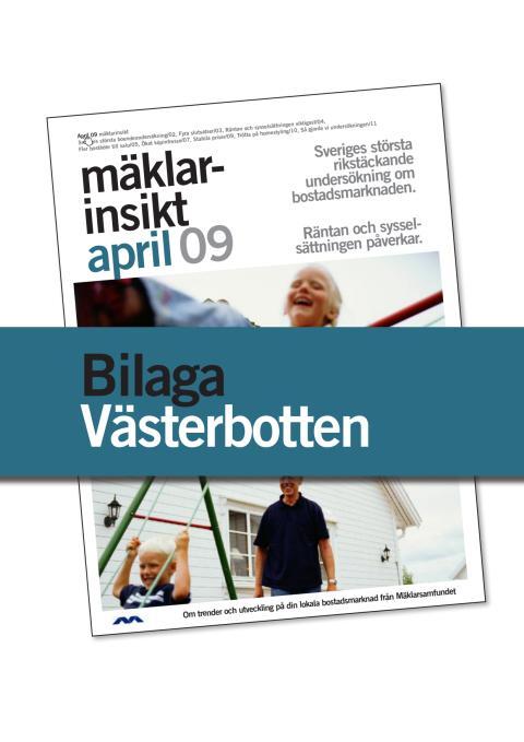 Västerbottens län: Fler bostäder till salu i Västerbottens län den närmaste tiden