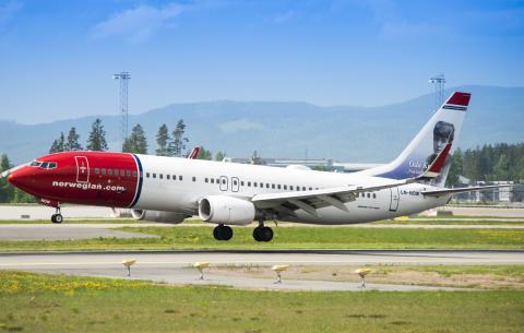 Norwegian med ny passasjerrekord i juli: Første gang over 2 millioner reisende