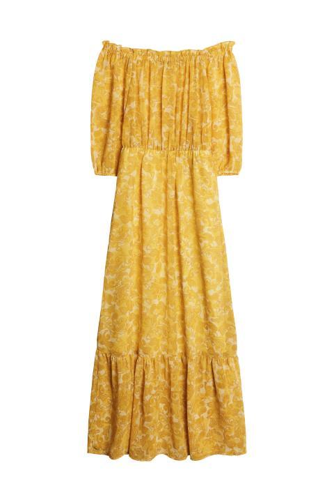 Gina Tricot 499 SEK 49.95 EUR 399 DKK Sahara off shoulder dress v.18
