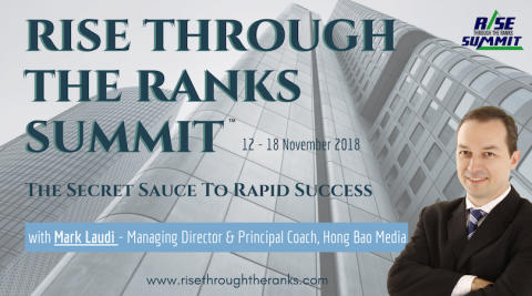 HBM's Mark Laudi features in Rise Through The Ranks Summit™