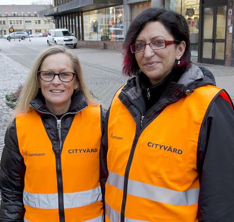 Ökad trygghet och service när Växjö får cityvärdar
