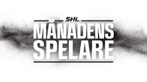 SHL instiftar utmärkelsen Månadens Spelare