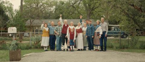 Familjen Sellstrom i Texas