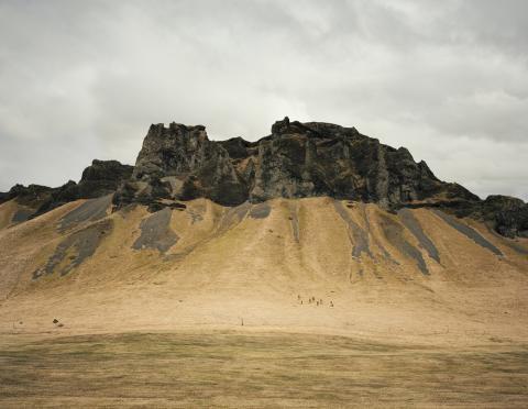 Pressvisning av höstens två fotoutställningar på Waldemarsudde Helene Schmitz - Thinking Like a Mountain och Målaren som fotograf
