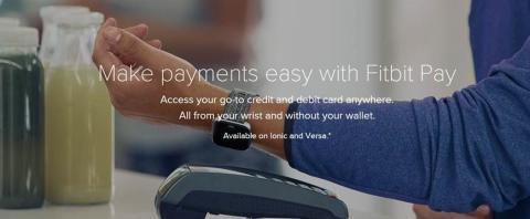 Storebrand lanserer Fitbit Pay