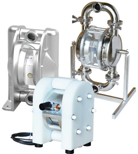 New Series of Intelligent diaphragm pumps  from Tapflo
