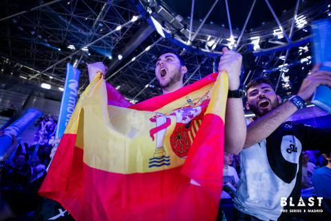 Wild fans and big plays: Day 1 recap of BLAST Pro Series Madrid 19