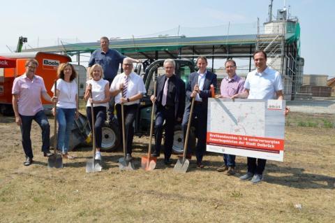 Zahlreiche Gewerbegebiete im Kreis Paderborn werden von Deutsche Glasfaser ausgebaut