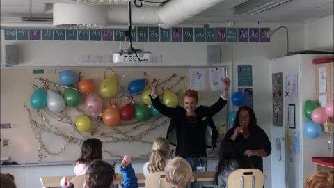 Eleverna i Tolg och Sandsbro vann matsvinnstävlingen
