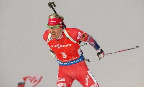 Emil Hegle Svendsen Ruhpolding sesongen 2015-2016