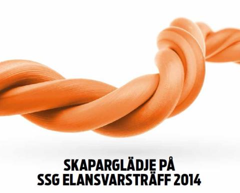 Skaparglädje är temat för årets SSG Elansvarsträff