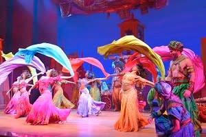 Disney's Aladdin ny i Hamburg