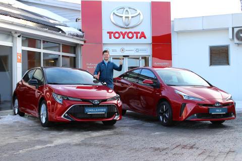 Nye Toyota Corolla Hybrid og Toyota Prius er klare for Steinkjer