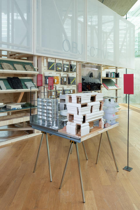 """Norell/Rodhe, Josefin Wangel, """"Under Construction"""", The Library, The National Museum - Architecture. Photo: OAT / Istvan Virag"""