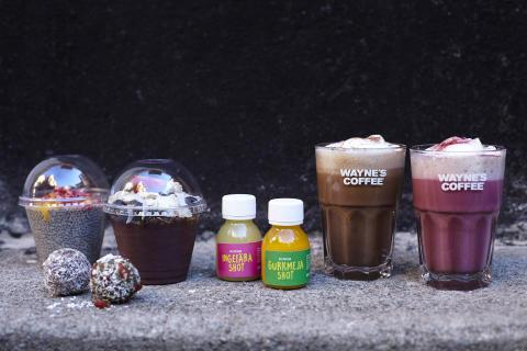 Wayne's Coffee satsar på hälsa med en serie växtbaserade produktnyheter