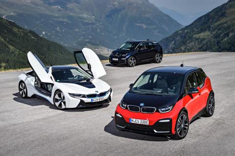 BMWi: BMW i3, BMW i3s, BMW i8