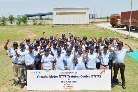 03_「ヤマハNTTFトレーニングセンター(YNTC)」開校式の模様