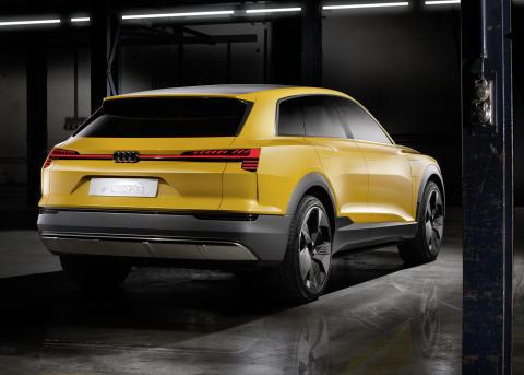 Audi h-tron quattro concept - statisk rear