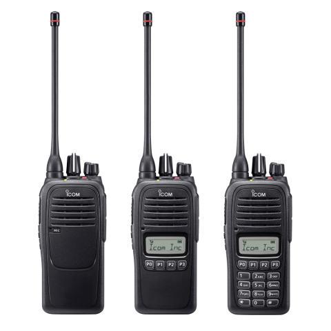 Ny kompakt radioserie från Icom!