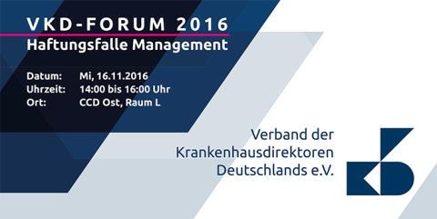VKD-Forum und Work-Café