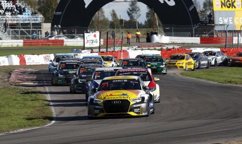 Tobias Brink, Brink Motorsport, STCC-finalen 2018, foto Micke Fransson