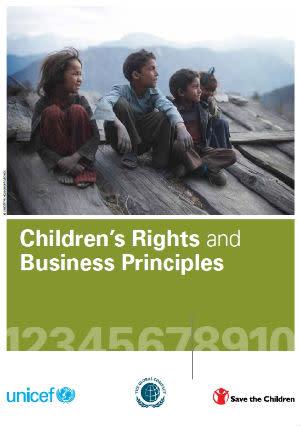 Barnrättsprinciper hjälper företag att ta större ansvar
