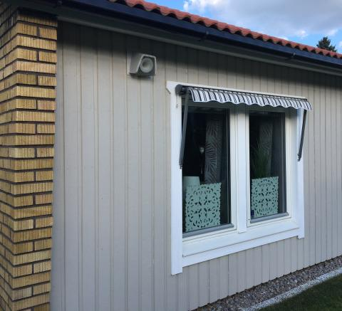 NonSonus installerad i fasad