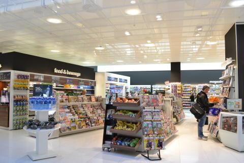 Ny utrikes avgångshall Landvetter - Press Stop-butik