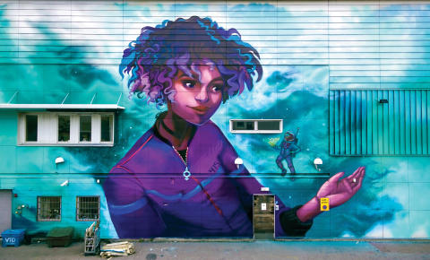 Region Sörmland satsar på graffiti i ny samlingsutställning