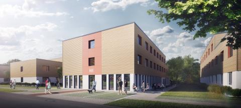 Spatenstich: ZÜBLIN errichtet moderne Studenten-Wohnanlage in Potsdam