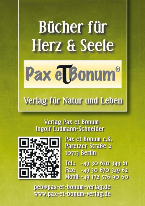 Pax et Bonum Visitenkarte