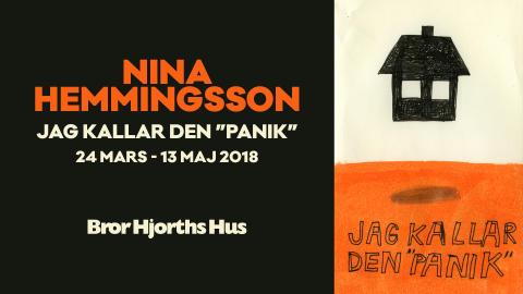 """""""Panik"""" när Nina Hemmingsson ställer ut på Bror Hjorths Hus"""
