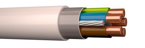 Alla lösningar i Elrätt Idébanken har  kablar som klarar nya brandkraven