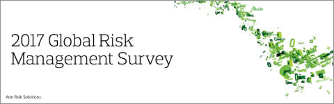 Oväntad volatilitet med dess komplexitet adderas som en ny risk i 2017 års Global Risk Management Survey
