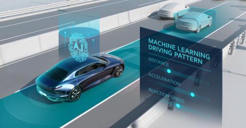 KIA med verdens første læringsbaserede Smart Cruise Control Teknologi