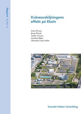 SVU-rapport 2012-12: Kväveavskiljningens effekt på Ekoln