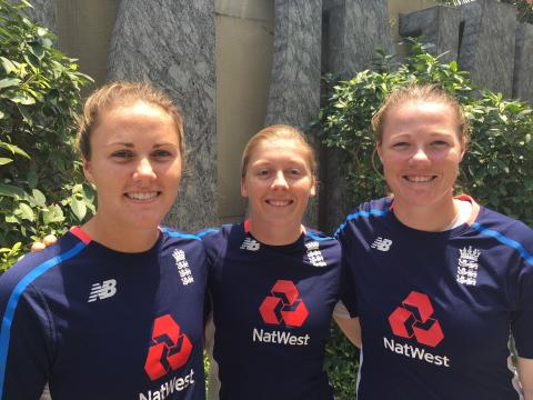 Knight, Sciver And Shrubsole React To Wisden Honour