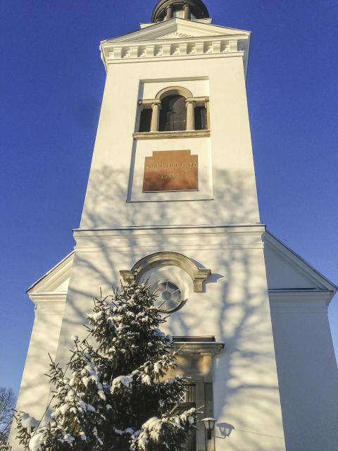 Sh bygg renoverar Söderfors kyrka